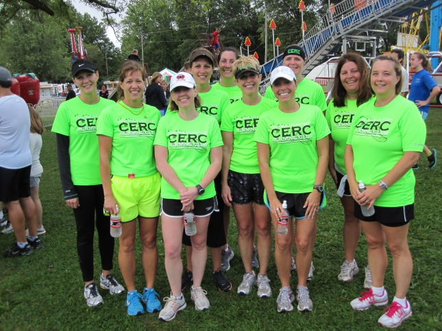 Columbus Eastside Running Club (CERC) - After the Baltimore 5k
